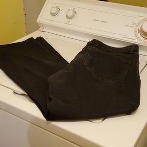 cute curvy fit bootcut jeans